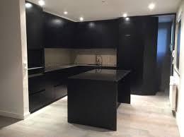 cuisine laqué noir charmant cuisine laquee avec cuisine noir laque et collection