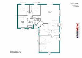 plan de maison 100m2 3 chambres plan maison 3 chambres 1 bureau bungalow conomique avec garage
