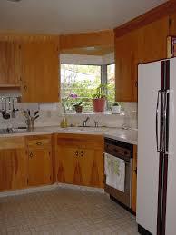 corner kitchen windows for cozy kitchen lighting