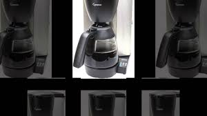 Burr Coffee Grinder Bed Bath And Beyond Capresso 484 05 Mg600 Plus 10 Cup Programmable Coffee Maker Youtube