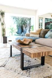 rustic modern coffee table modern rustic living room fin soundlab club