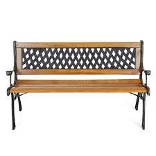 ikayaa outdoor garden patio bench furniture porch backyard lawn