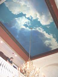 how to airbrush clouds on a wall cloud ceilings and bedrooms 20 possibilities bedroom mural wallpaper with pictures