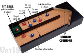 How To Play Table Shuffleboard Executive Desktop Shuffleboard Game