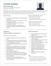 controller resume exle controller resume exle financial controller resume template for