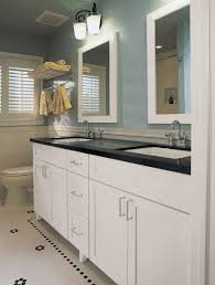 bathroom vanity tile ideas bathroom countertops ideas rectangular mirror with white wooden