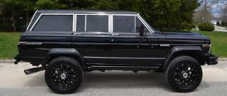 jeep grand wagoneer custom for 85 000 this 1984 jeep grand wagoneer ain t for no girly man
