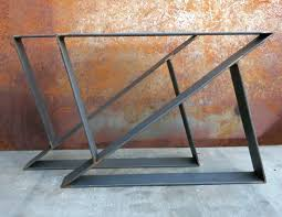in metal table legs charming metal legs for desk best table ideas on steel at dining