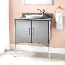 ikea bathroom furniture slate flooring and a custom vanity of