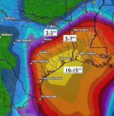 Liberty142 S 2016 Prediction Maps by Death Toll Reportedly Reaches 5 As Harvey Spawns Massive Flooding