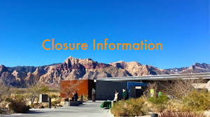 closure information red rock canyon las vegas