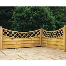 horizontal fence panels garden u2013 outdoor decorations