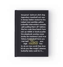 how i met your hardcover journals by hscases