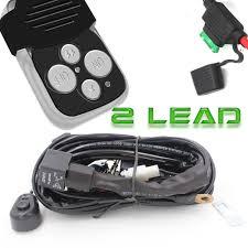 Led Light Bar 12v by Turbo Sii Off Road Led Light Bar Wiring Harness Kit 12v 40 Amp