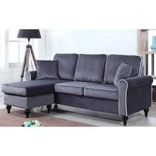 Grey Check Sofa Sectional Sofa Design Tweed Sectional Sofa Grey Brown Macy Large