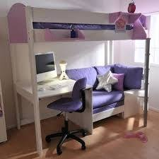 Bunk Bed Desk Underneath Furniture Size Loft Bed With Desk Underneath Veet Wonderful