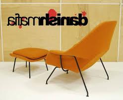 home design mid century modern arm lounge chairs baumritter
