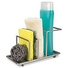 Kitchen Sink Holder by Kitchen Sponge Holders Sink Caddies U0026 Organizers Bed Bath U0026 Beyond
