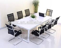Office Conference Table Modern Work Room Staff Meeting Table Desk Small Office Conference