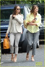 pippa middleton enjoys birthday lunch with her mom in london