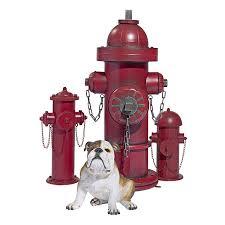Mayrich Company Home Decor Amazon Com Design Toscano Vintage Metal Fire Hydrant Statue