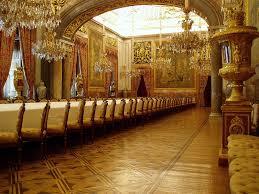 palacio real state dining room royal palace madrid flickr