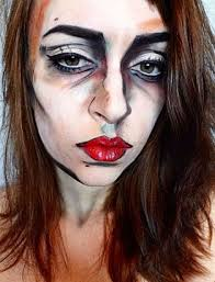 face makeup for halloween 17 extraordinary and easy halloween