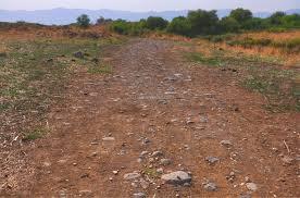roman roads golan heights