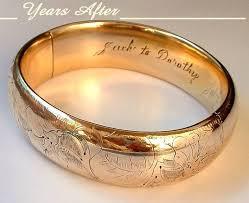 gold bangles bracelet images Signed h h antique victorian bangle bracelet gold filled lily jpg