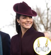 kate middleton earrings kate middleton earrings were the 3 000 sparklers a christmas