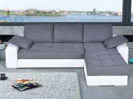matière canapé canapé réversible convertible bi matière et bicolore balzac noir