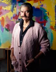 leroy neiman artist who captured sports and public life dies at