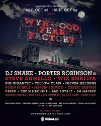 halloween dj set porter will be playing a dj set at wynwood fear factory this year