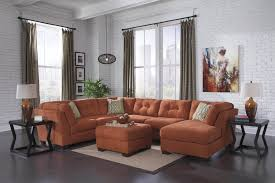 Ashley Furniture Bedroom Set Specials Delta City Rust Sectional Sectional Sofa Sets