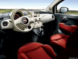 Fiat 500 Interior The New Fiat 500 Bombshell Or Bust Mind Over Motor