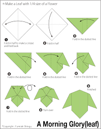 cara membuat bunga iris dari kertas origami simple origami leaf images coloring pages adult
