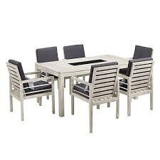Atlantic Patio Furniture Buy John Lewis Atlantic 6 Seater Dining Chair U0026 Table Set Fsc