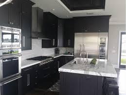 black kitchen cabinets black and dark palette kitchen cabinets in halifax nova scotia