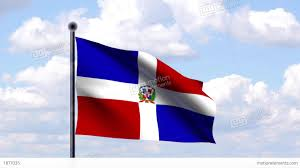 Dominican Republic Flags Animated Flag Of Dominican Republic Stock Animation 1877035