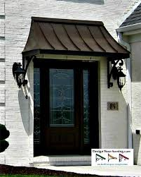 Exterior Door Awnings The Juliet Gallery Metal Awnings Projects Gallery Of Awnings