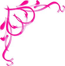wedding borders pink border clip at clker vector clip