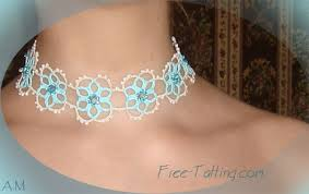 lace necklace patterns images Tatting lace jpg