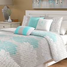 Light Blue Coverlet Nature U0026 Floral Bedding Sets You U0027ll Love Wayfair