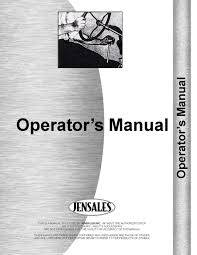 massey ferguson 4800 tractor operators manual