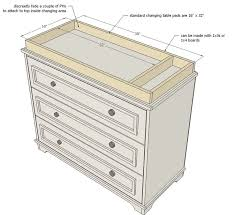 How To Make A Baby Changing Table Image Result For Changing Table Dresser Dresser Changing Table