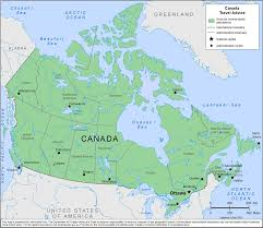 Map Of Canada And Alaska by Smartraveller Gov Au Canada