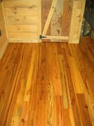 Cabin Floor Reclaimed Heart Pine Floor Styles Whole Log Lumber