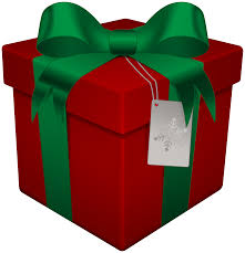 christmas gift box red transparent png clip art gallery