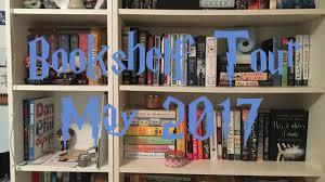 bookshelf tour may 2017 franny coughlin youtube