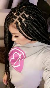Braided Hairstyles With Weave Best 25 Black Braided Hairstyles Ideas On Pinterest Black Hair